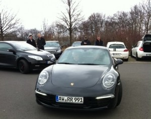 Test driving the 991