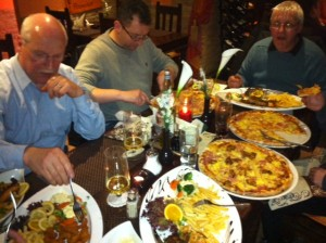 Dinner at Pinochio's